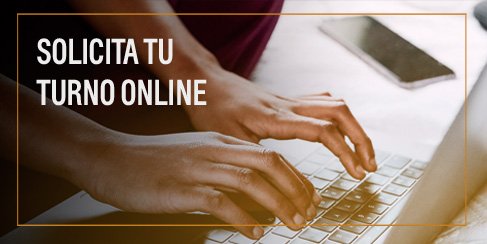 Agenda tu turno online